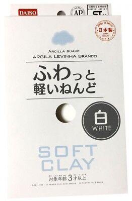 DAISO JAPAN Soft Clay  Lightweight White