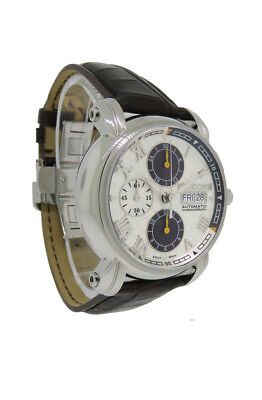 Day Date Chronograph - Roberto Cavalli R7241672015 Men's Automatic Day Date Chronograph Alligator Watch