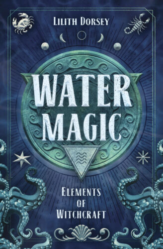 WATER MAGIC BOOK Elements of Witchcraft Guidebook elemental witch craft wicca