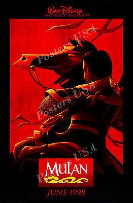 (Posters USA - Disney Classics Mulan Poster Glossy Finish - DISN105)