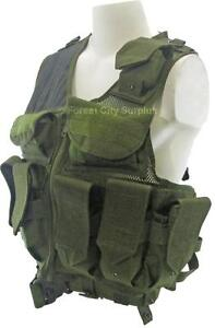 New - M71 TACTICAL VESTS - ALL KINDS OF POCKETS TO CARRY YOUR AIRSOFT - PAINTBALL - FISHING GEAR - KEEP YOUR HANDS FREE!