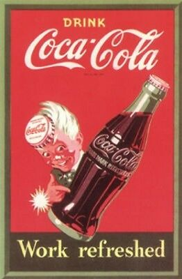 COCA COLA COKE CLASSIC FRIDGE MAGNETS  SPRITE BOY