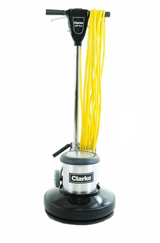 """17"""" FLOOR MACHINE BY CLARKE, MODEL CFP PRO 17, COMES WITH PAD DRIVER, BRAND NEW"""