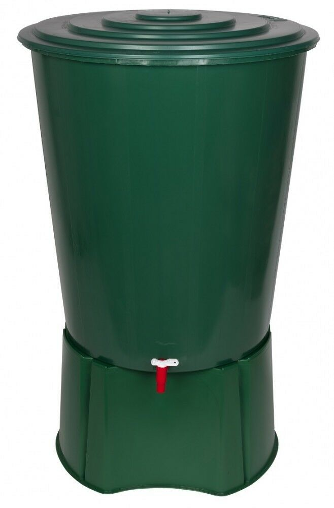 Wassertank Wassertonne Regentonne Regenfass Wasserfass 310 Liter mit Stand