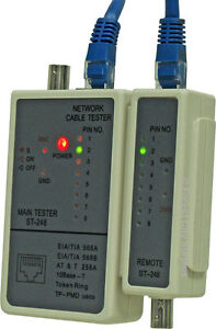 New - CABLE TESTERS - Easily solve this common computer problem! London Ontario image 1