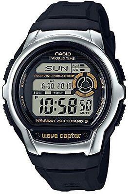Casio WVM60-9A,  Digital Atomic Waveceptor Watch, 50 Meter, Resin, Chronograph