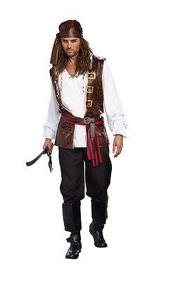 New Seaworthy Pirate Mens Costume by Dreamgirl 9872 Costumania