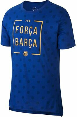 Nike FCB Herren Squad T-Shirt, Blau (Deep Royal Blau), XL