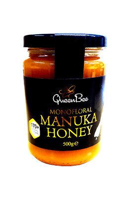 NEW - Queen Bee Manuka Honey MG170 - 500g