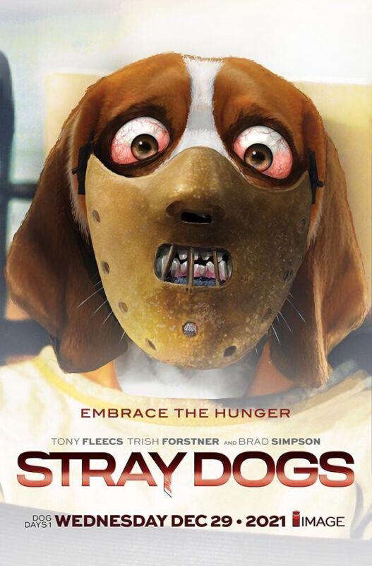 STRAY DOGS DOG DAYS 1-JOHN GALLAGHER POSTER VARIANT-LTD 300 W/COA-PRESALE