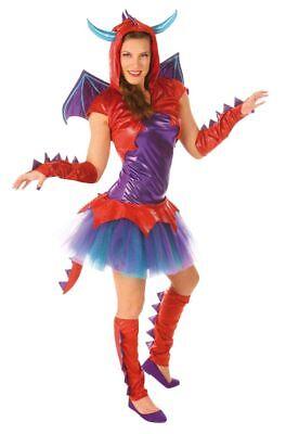 Drache Drachenlady Karneval Fasching (Damen Kostüm Drache)