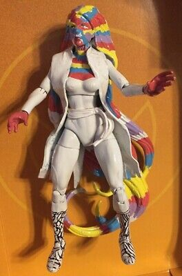 Marvel Legends CUSTOM Rainbow Girl - spider man Woman Cuckoo Emma Morlock Storm