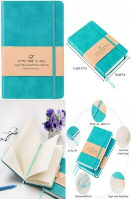 Bullet Journal - Dot Grid Hard Cover Notebook Premium Thick Paper with Fine