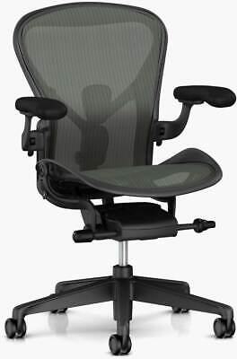 Authentic Herman Miller Aeron Chair Size-b Design Within Reach