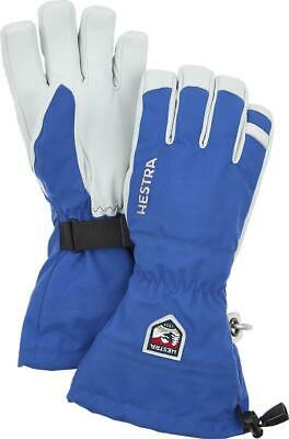 Hestra Army Leather Heli Ski Gloves Royal Blue