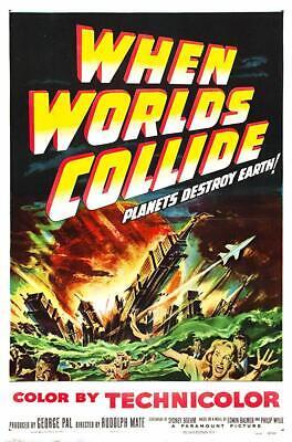 When Worlds Collide (1951) Action, Sci-Fi, Thriller Movie / Film on DVD