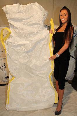 5 x Big Bags FIBC Bulk Fibc Brennholz Tischkreissäge Holzspalter