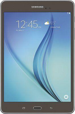 New Samsung SM-T350NZAAXAR Galaxy Tab A 8'' Wi-Fi 16GB Tablet - Smoky Titanium