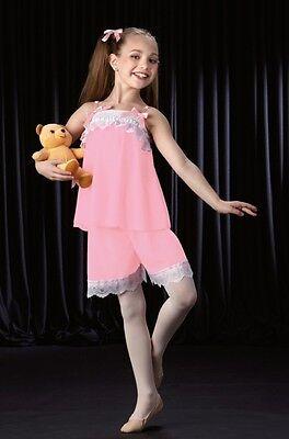 Me and My Teddy Bear Dance Costumes Clara PJ's Pajamas Clearance Child X-Small (Pj And Me Pajamas)
