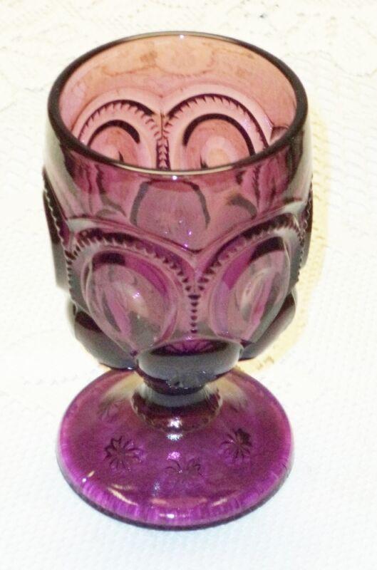 Amethyst Moon & Star Water Goblet  - P30