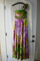 Jovani Floral Evening Gown