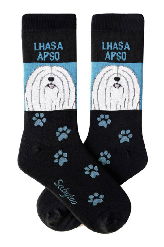 Lhasa Apso Crew Socks Unisex