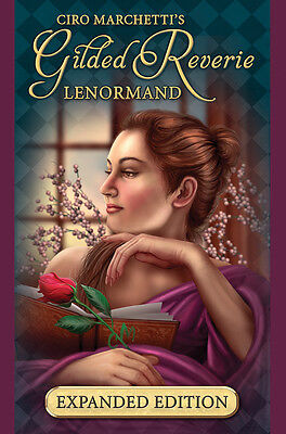 NEW 2017 Expanded Gilded Reverie Lenormand Tarot Magick Oracle Ciro Marchetti