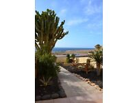 Holiday Home on Fuerteventura for Sale. Directly at the beach!