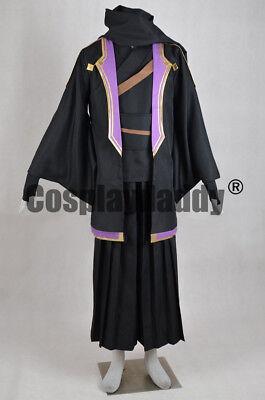 Sword Art Online Kirigaya Kazuto Sengoku Kimono Outfit Cosplay Costume F006