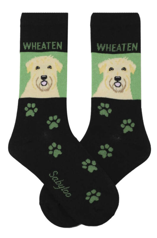 Soft Coated Wheaten Socks Crew Unisex