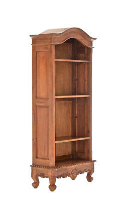 Bücherregal Henry rustic Bücherschrank Mahagoni Holz Wandregal Bücherwand