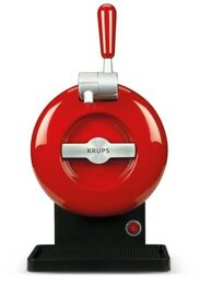 THE SUB Draught Beer Tap for Home by Krups, Rouge Edition