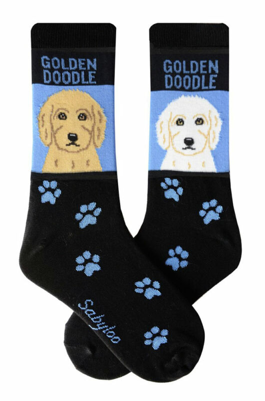 Goldendoodle Crew Socks Unisex