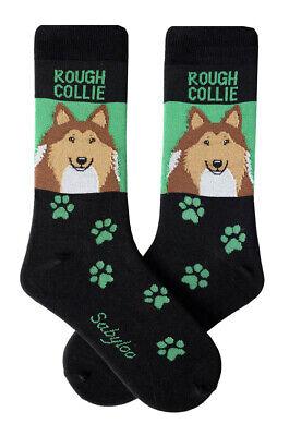 Rough Collie Crew Socks Unisex