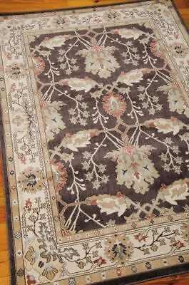 William Morris Style Arts & Crafts Mission Brown Area Rug **FREE SHIPPING** ()
