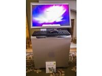 Apple Mac Pro and Apple 20 inch Monitor