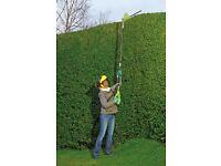 Garden Gear Cordless Hedge Trimmer+ Extension Pole