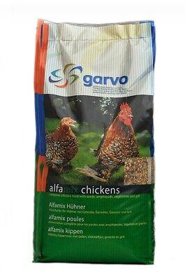 Garvo Alfamix Chicken feed 12.5KG Ref.1055 Premium GM free poultry food