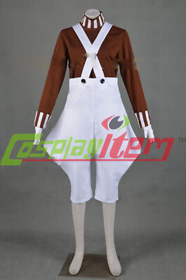 Willy Wonka and the Chocolate Factory Oompa Loompa Cosplay COSTUME CUSTOM MADE - Willy Wonka And Oompa Loompa Costumes