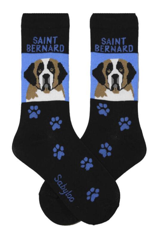Saint Bernard Crew Socks Unisex