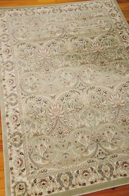 William Morris Style Arts & Crafts Mission Green Area Rug **FREE SHIPPING** ()