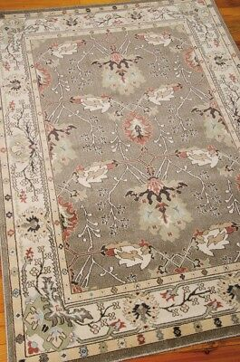 William Morris Style Arts & Crafts Mission Gray Area Rug **FREE SHIPPING** ()