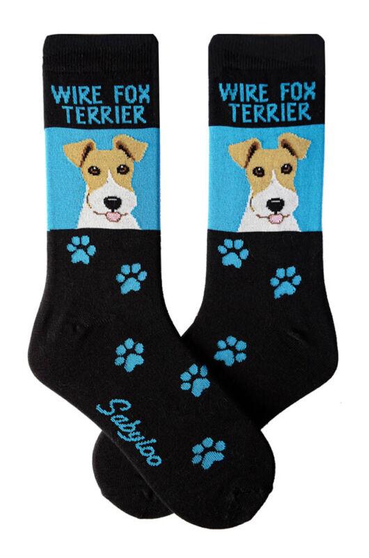 Wire Fox Terrier Crew Socks Unisex
