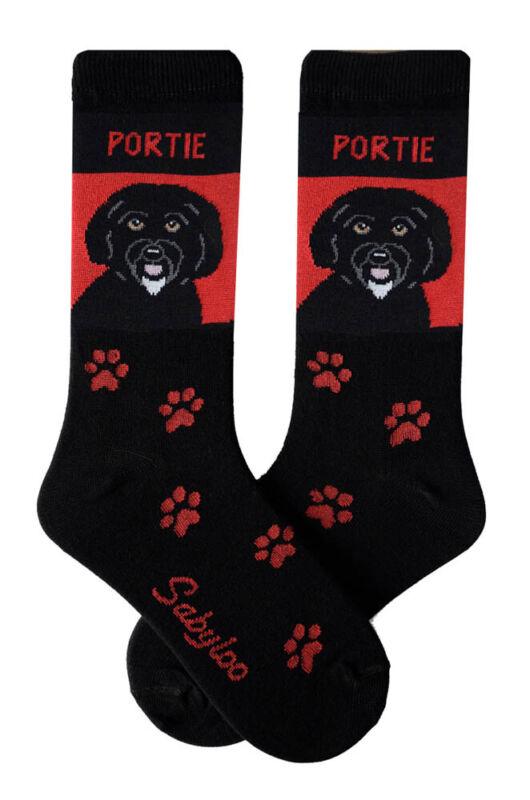 Portuguese Water Dog Crew Socks Unisex