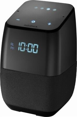 New Google Assistant Built In   Insignia Voice Smart Speaker  Free Shipping
