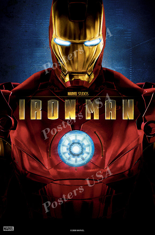 Posters USA - Marvel Iron Man Original Movie Poster Glossy I