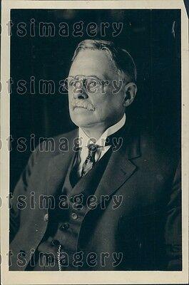 1923 Inventor Professor Elihu Thomson General Electric Press Photo