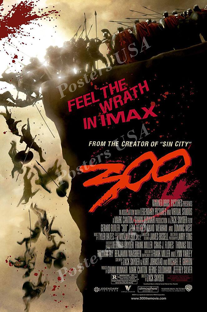 Posters USA - 300 Original Movie Poster Glossy Finish - MOV2
