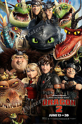 (Posters USA - How to Train Your Dragon 2 Movie Poster Glossy Finish - FIL105)