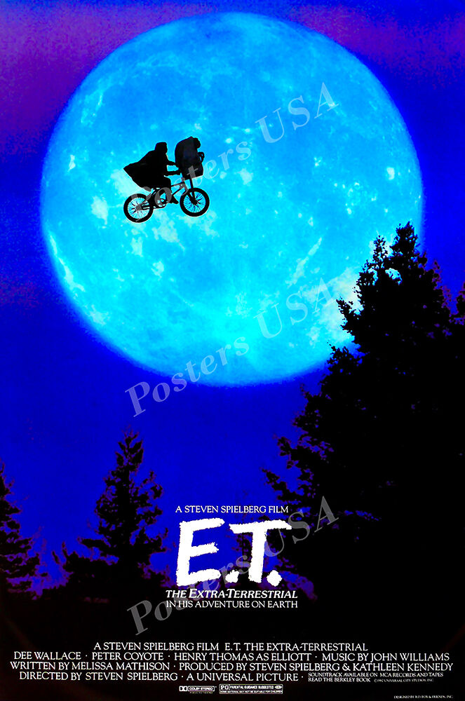 Posters USA - E.T. Extra-Terrestrial Movie Poster Glossy Fin